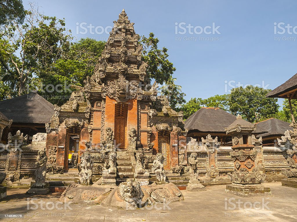 Bali Tempel stock photo