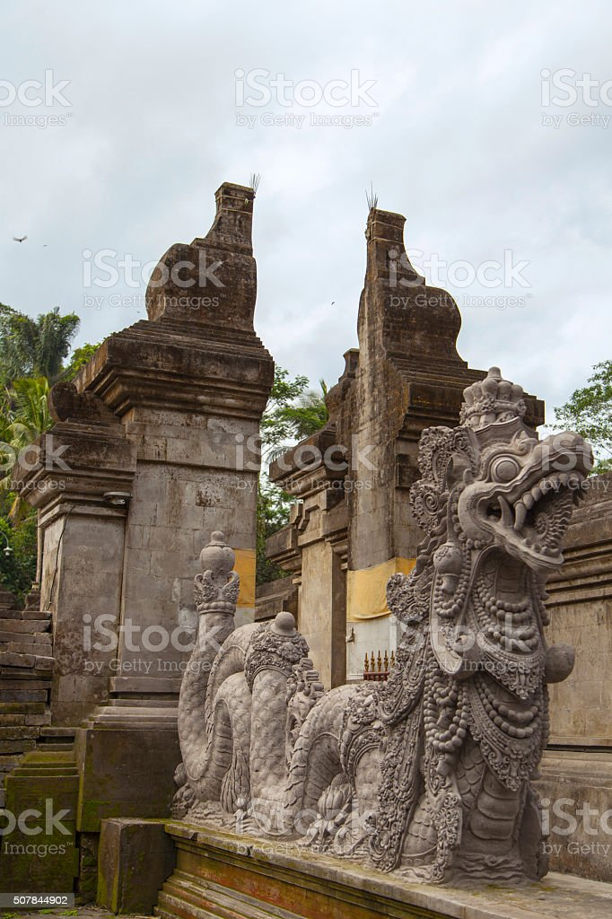 Bali Pura Tirta Empul stock photo