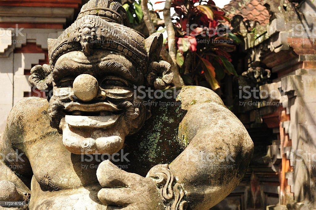 Bali Troll stock photo