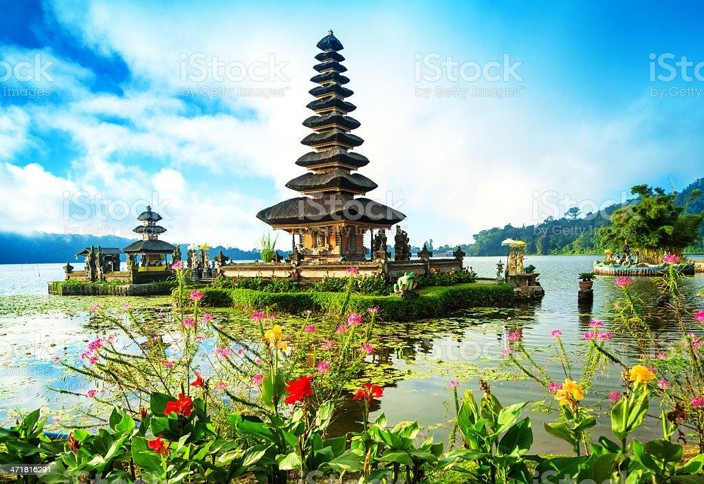 Bali Water Temple - Pura Ulun Danu stock photo