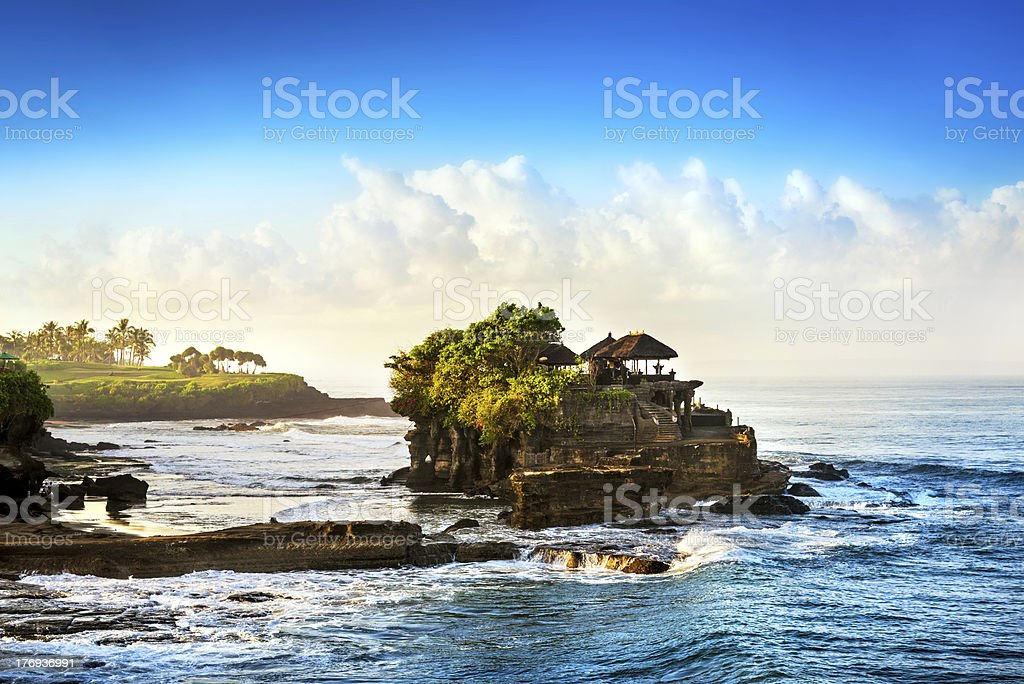 Bali Water Temple - Tanah Lot royalty-free stock photo