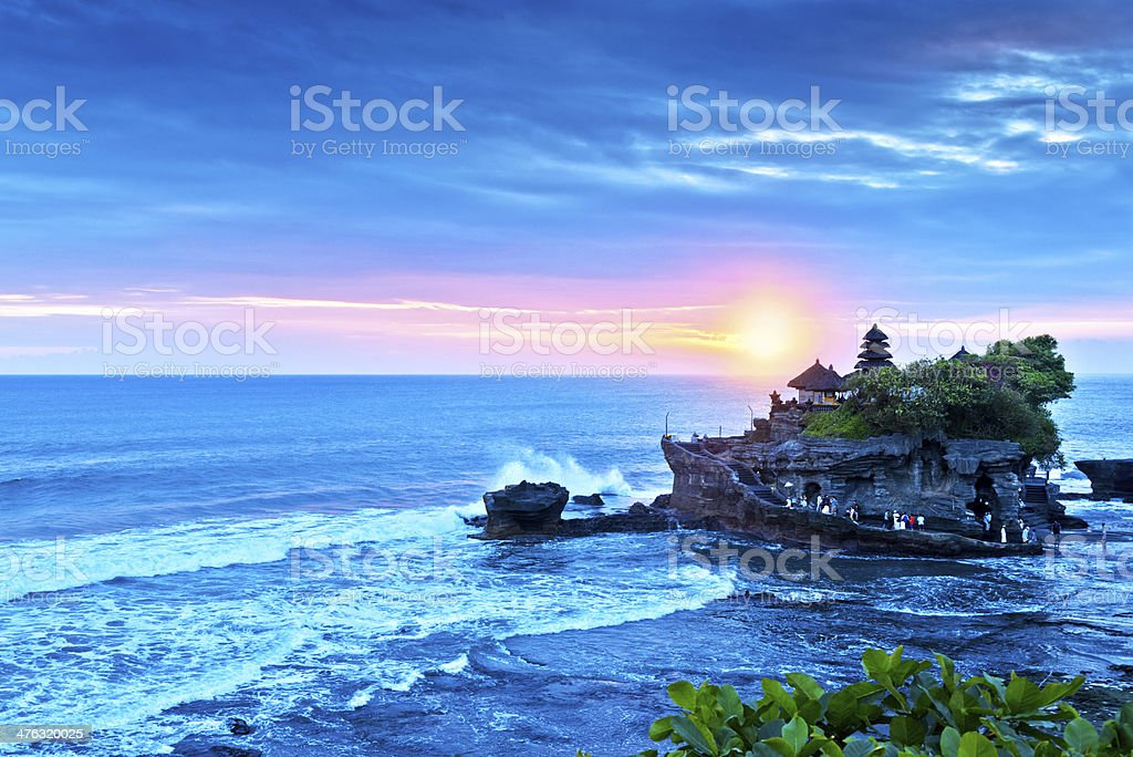 Bali Water Temple - Tanah Lot stock photo