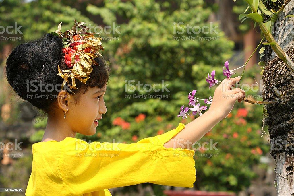 Balinese Child royalty-free stock photo