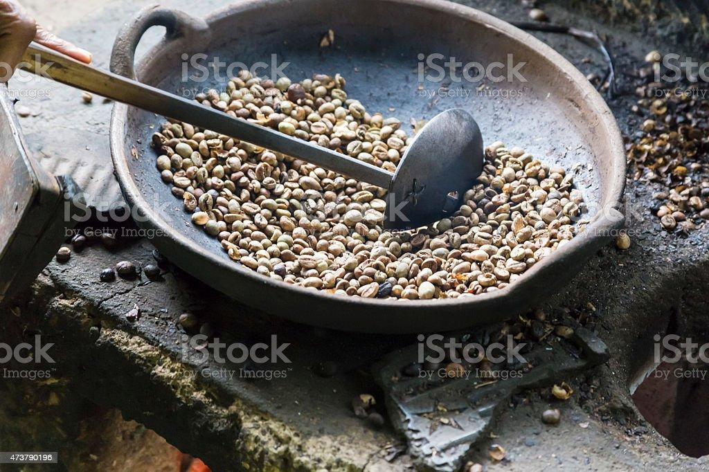 Balinese coffee stock photo
