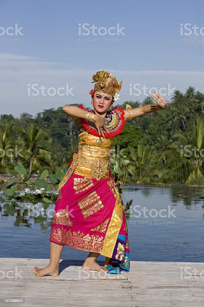 Balinese dancer royalty-free stock photo