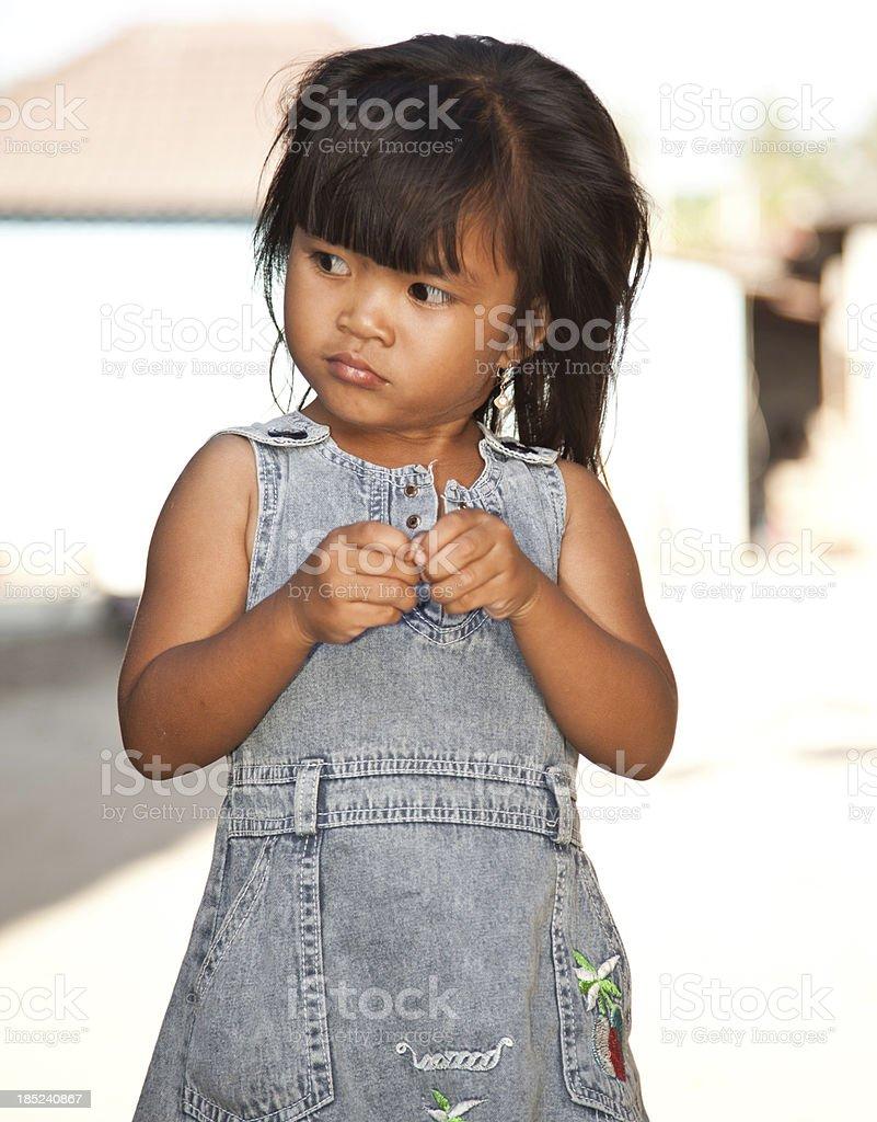 Balinese Girl royalty-free stock photo