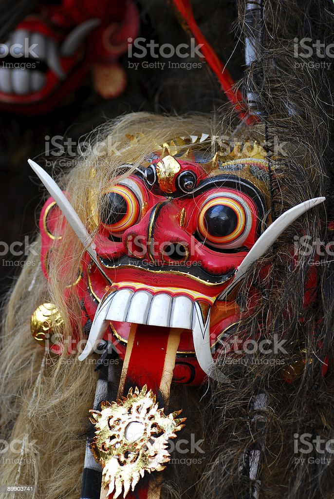 Balinese mask royalty-free stock photo