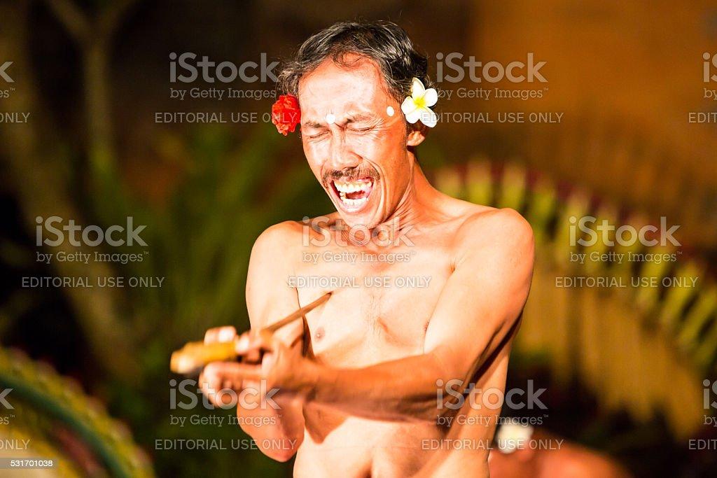 Balinese Night Show stock photo