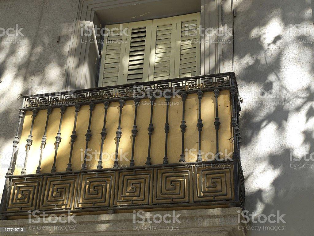 Balkon stock photo
