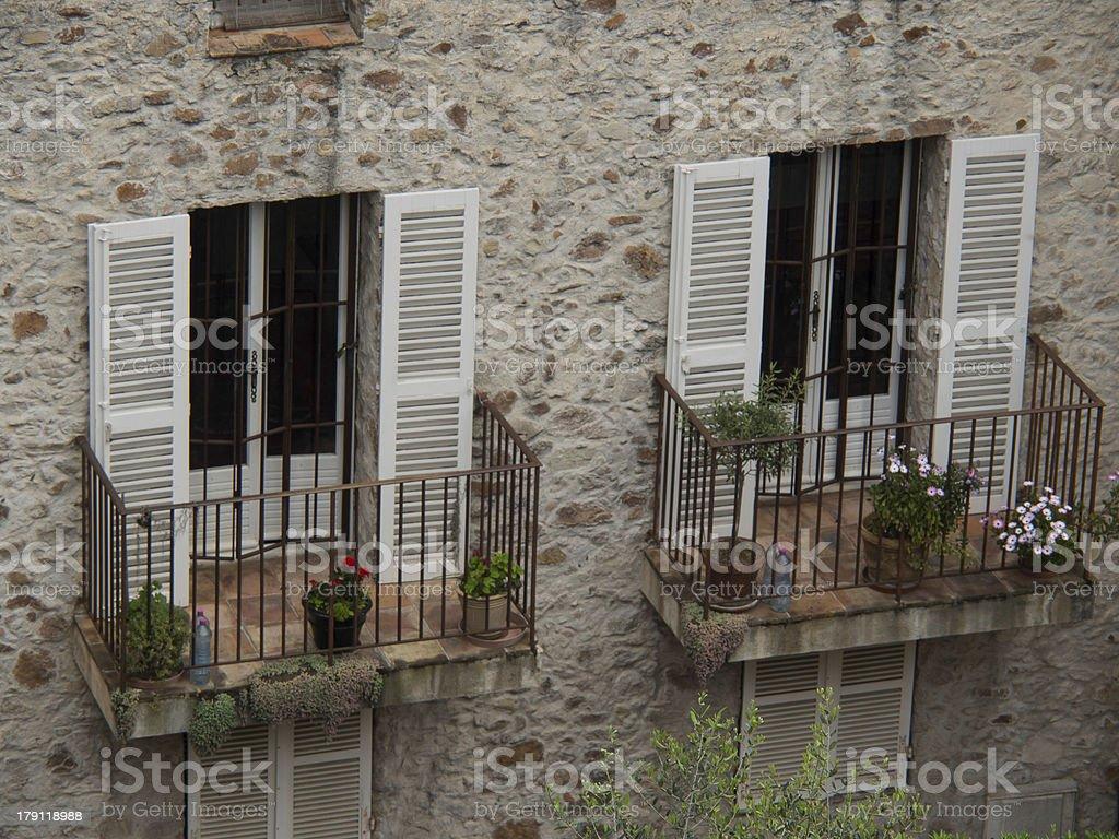 Balkone stock photo