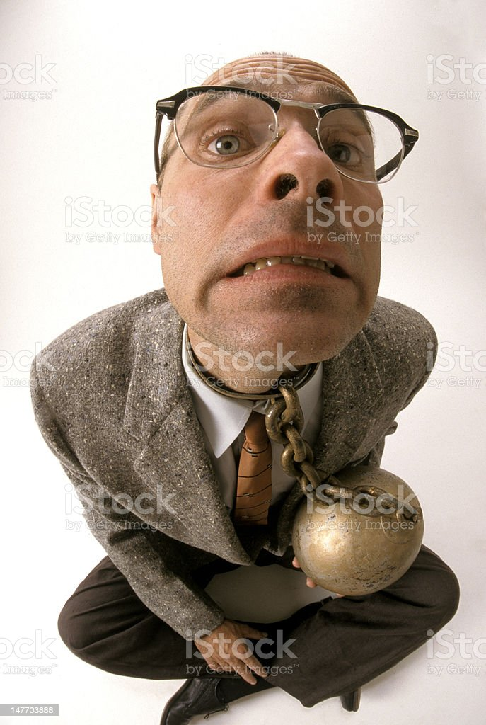 Ball and Chain stock photo