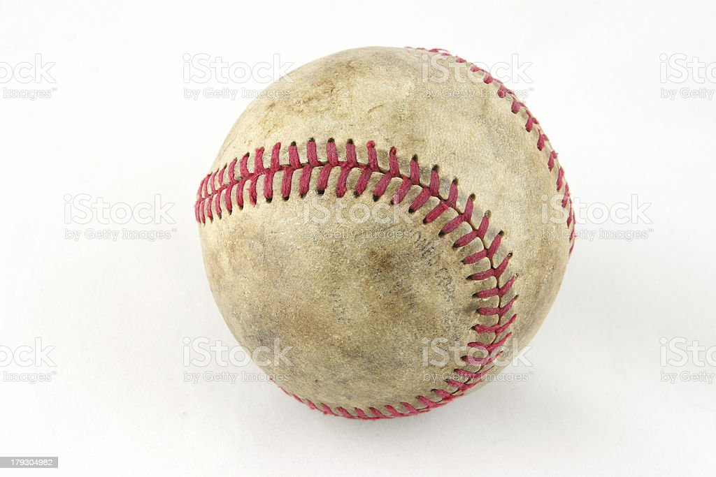ball for game in baseball stock photo
