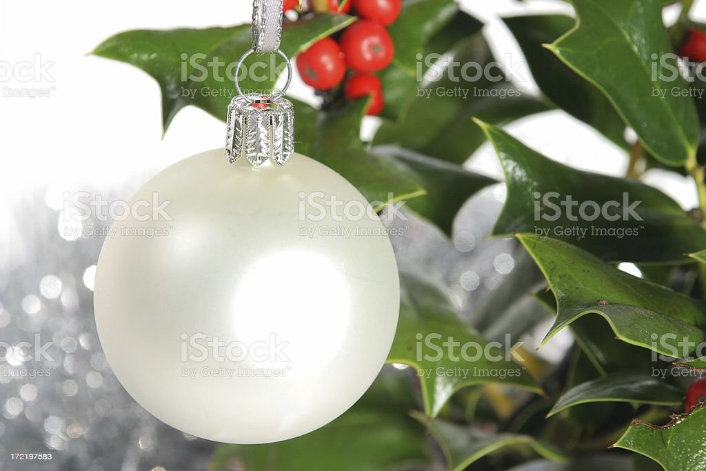 Ball Hanging 3 royalty-free stock photo