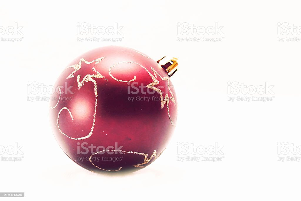 Ball in white stock photo