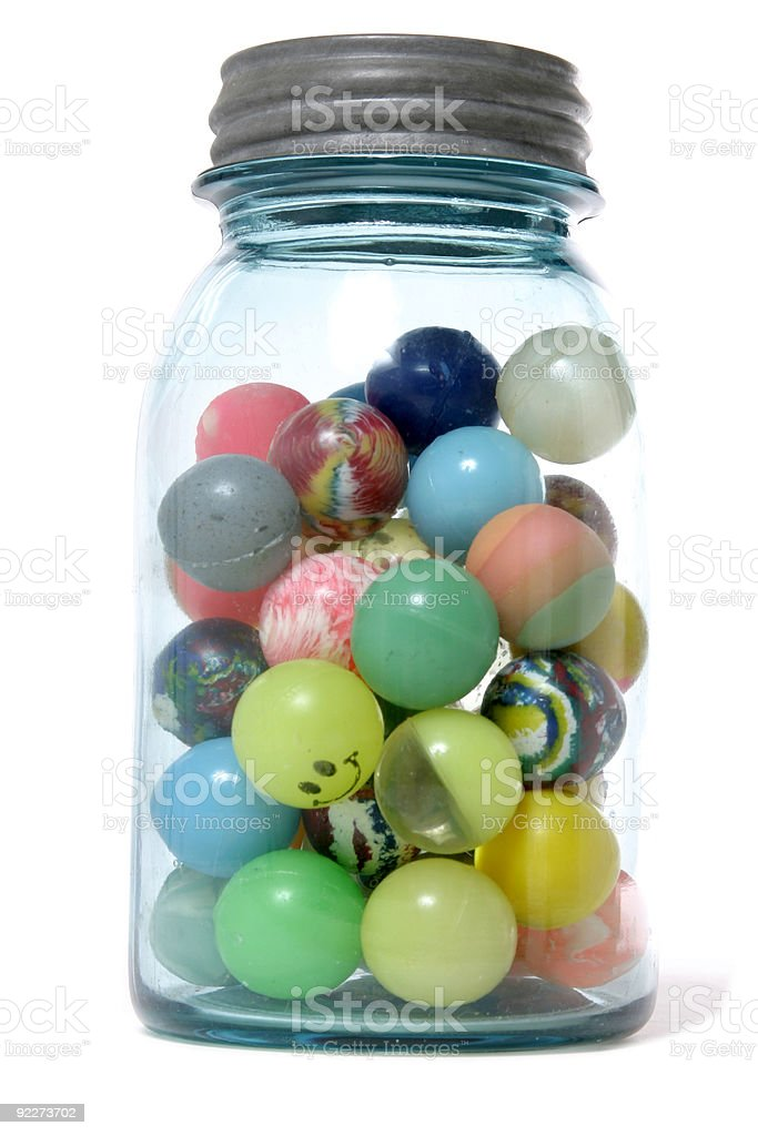 Ball Jar stock photo