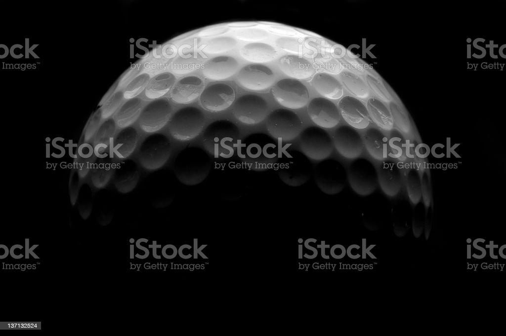 Ball macro stock photo