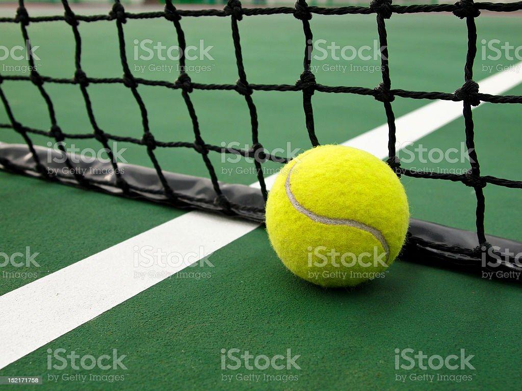 Ball & Net stock photo
