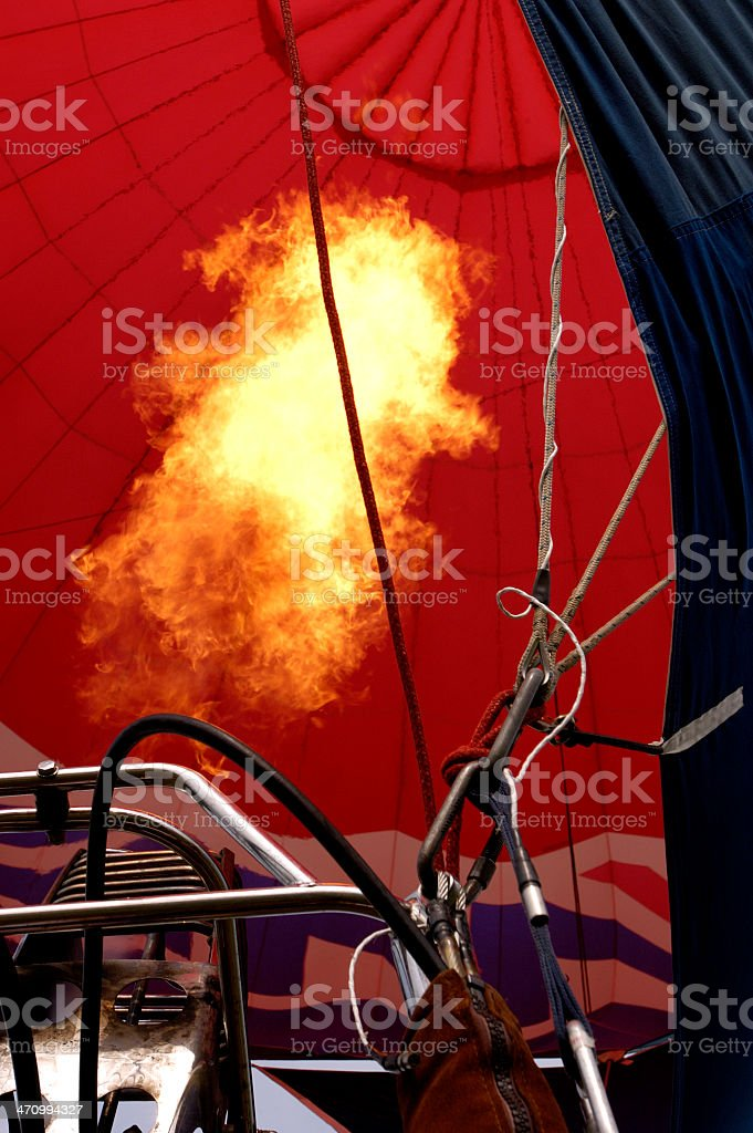 ball of fire royalty-free stock photo