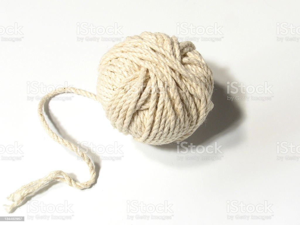 Ball of String royalty-free stock photo