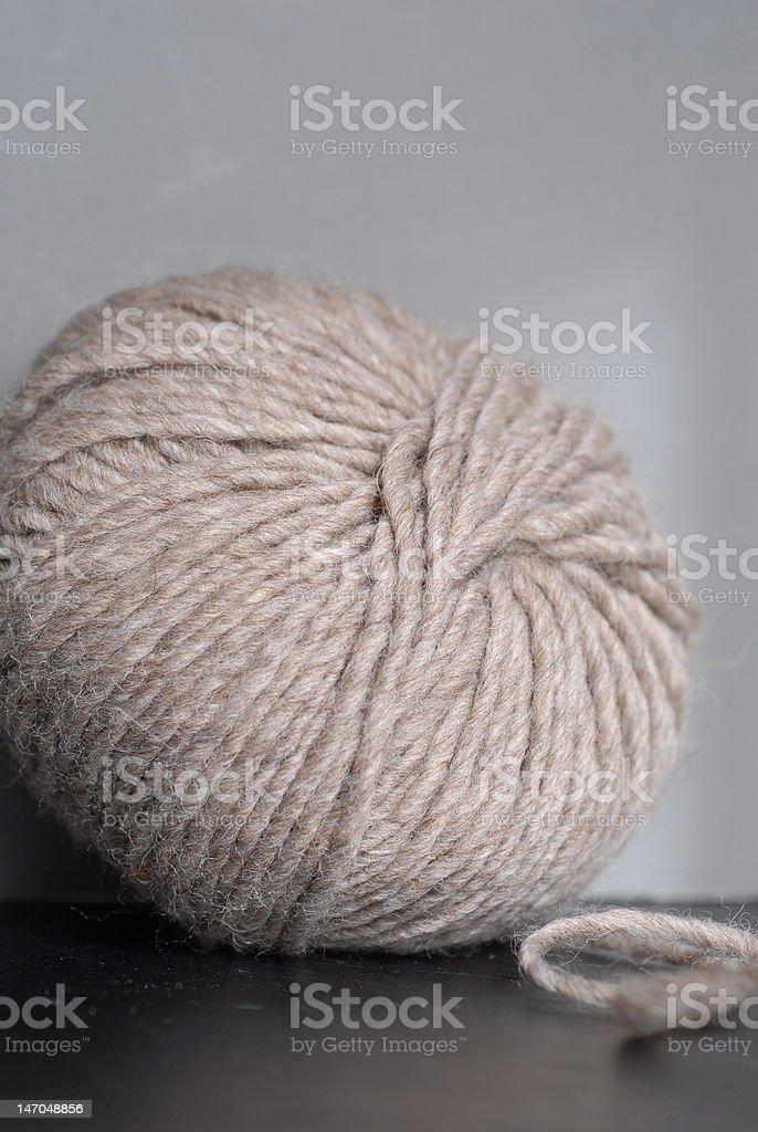 Ball of yarn royalty-free stock photo