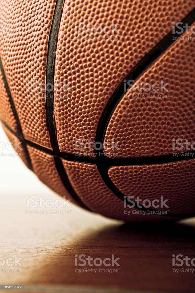 ball on court stock photo