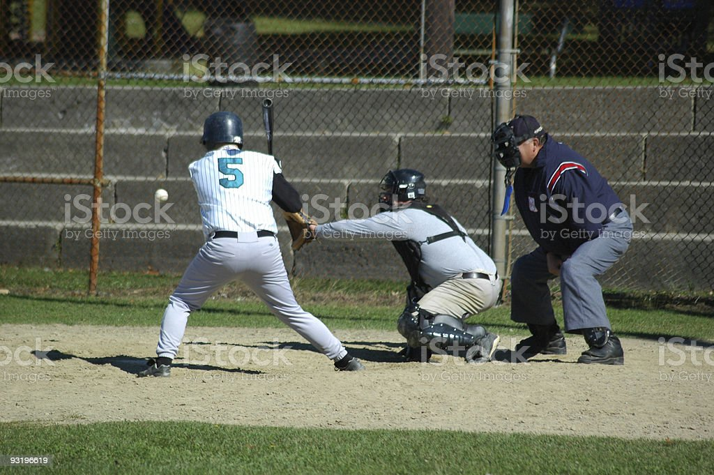 Ball or Strike? royalty-free stock photo