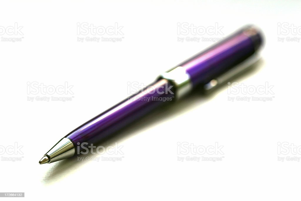 Ball point pen 2 royalty-free stock photo