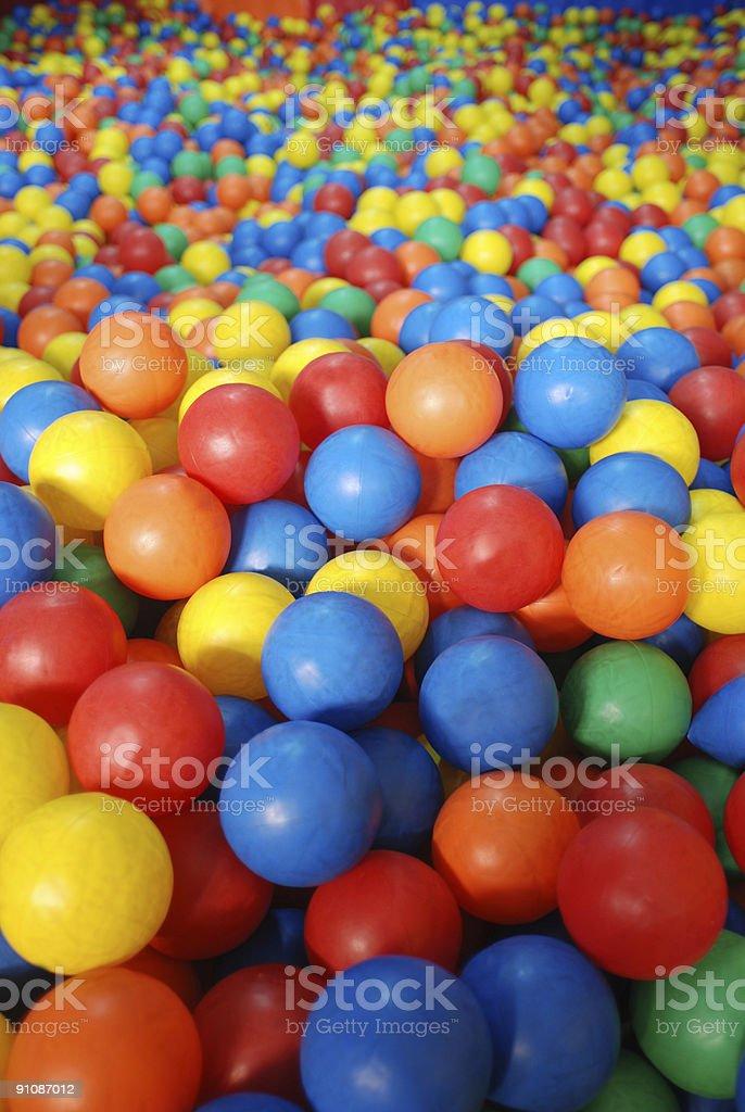 Ball pool royalty-free stock photo