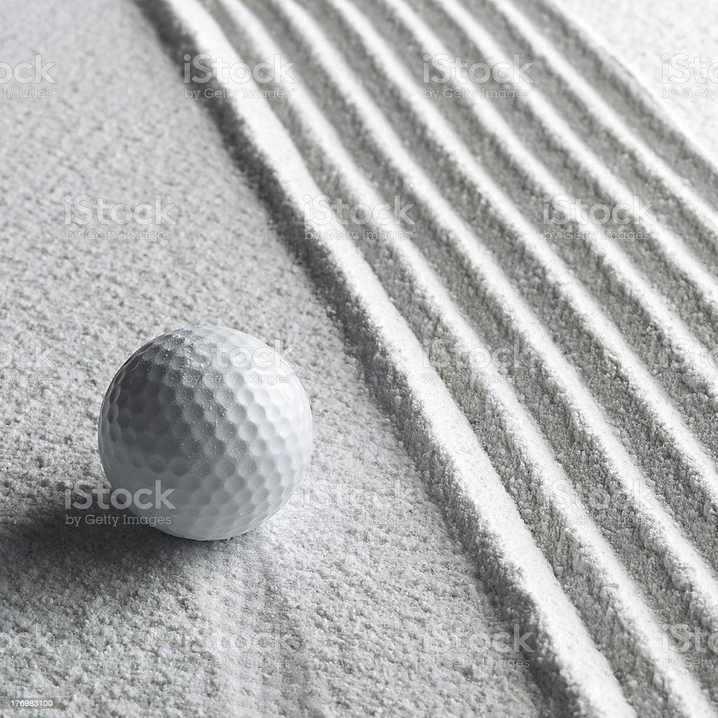 Ball sand royalty-free stock photo