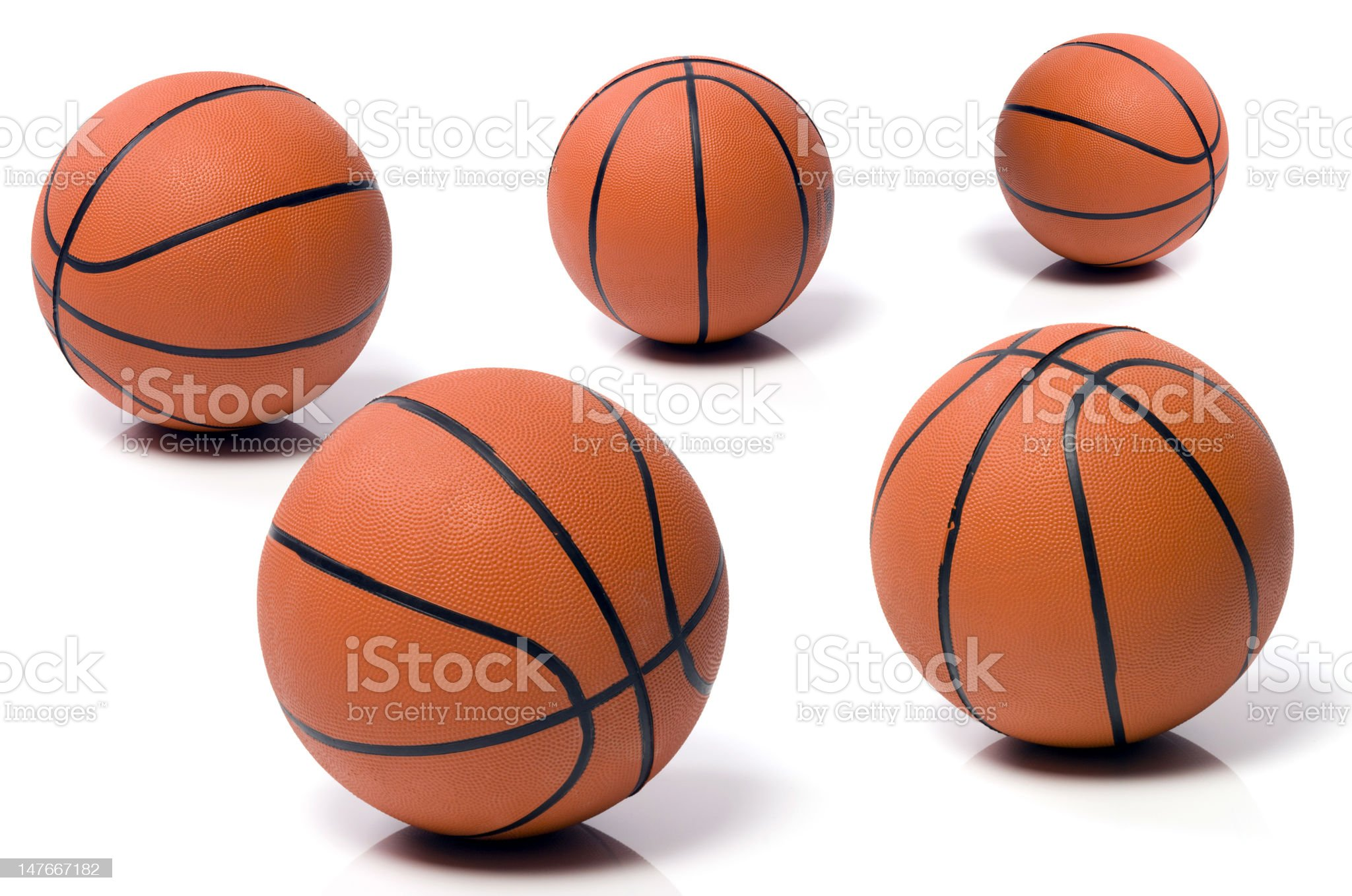 ball to the basket-ball royalty-free stock photo