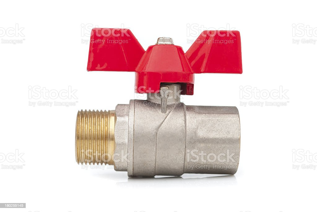 Ball valve. royalty-free stock photo