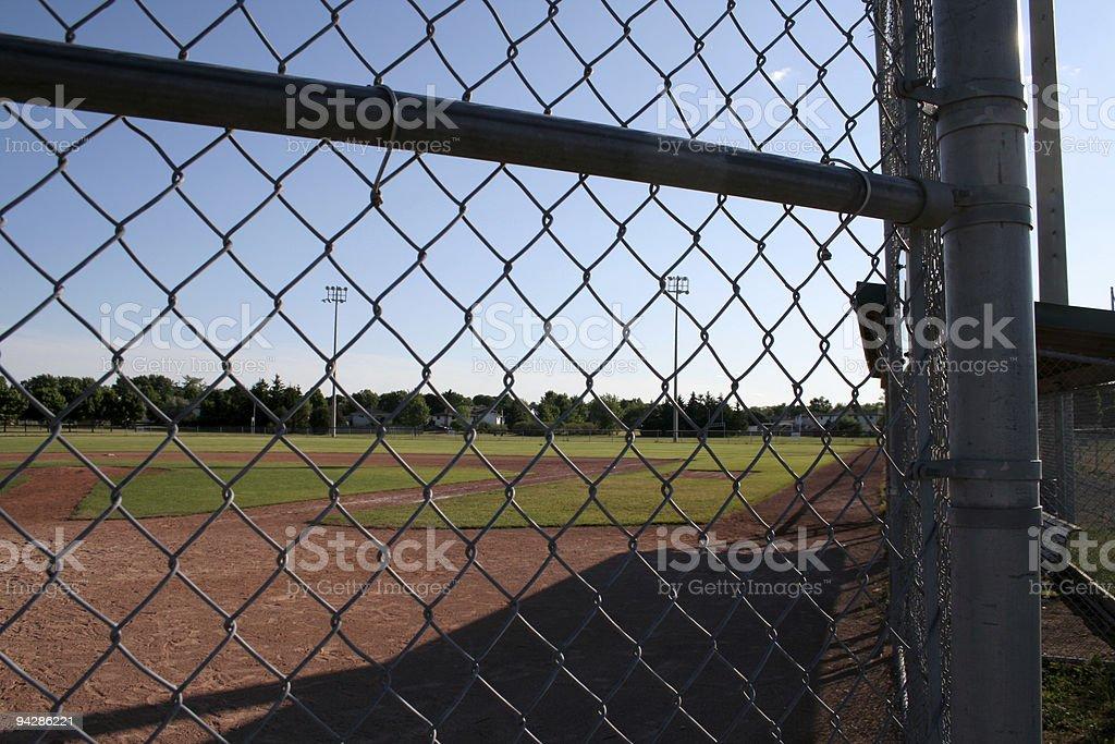 Ball Yard royalty-free stock photo