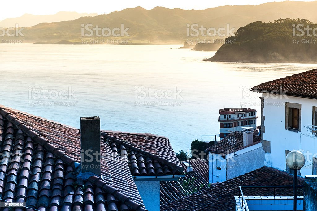 Lastres royalty-free stock photo