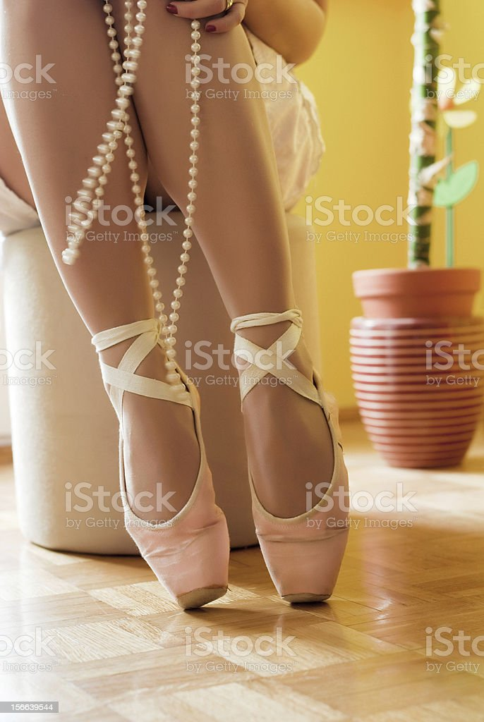 ballerina and ballet royalty-free stock photo