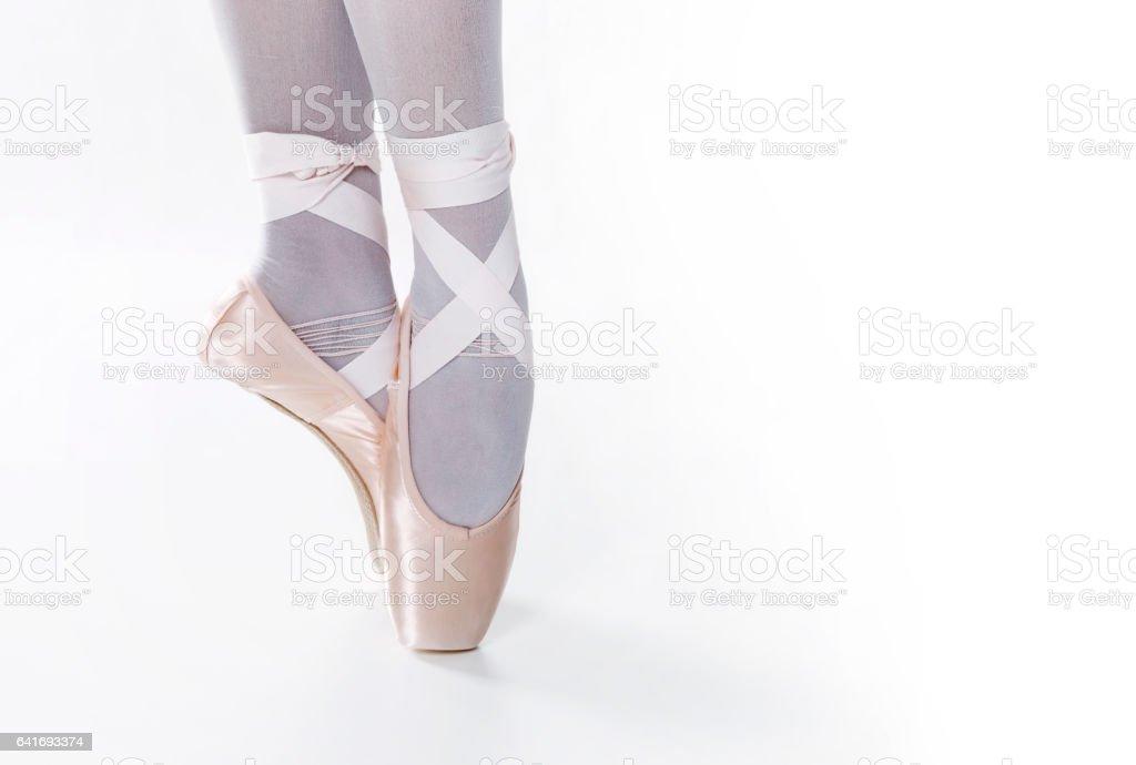 Ballerina Feet stock photo