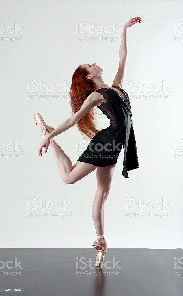 Ballerina royalty-free stock photo