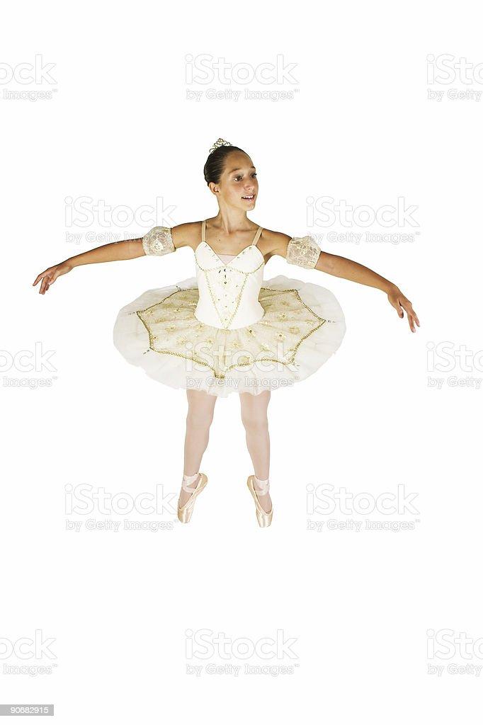 Ballerina Posed royalty-free stock photo