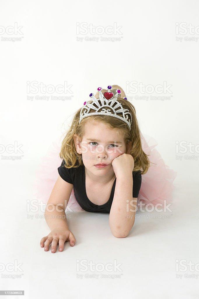 Ballerina Princess royalty-free stock photo
