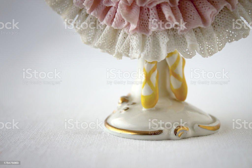 Ballerina shoes royalty-free stock photo