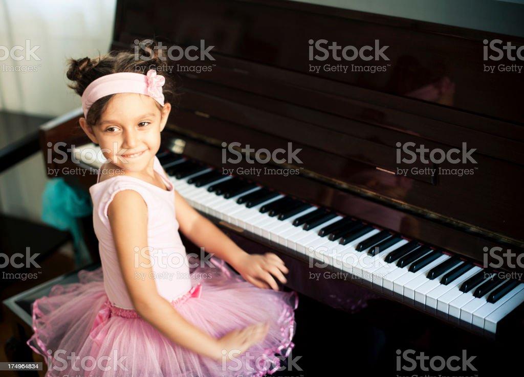 Ballet Class royalty-free stock photo