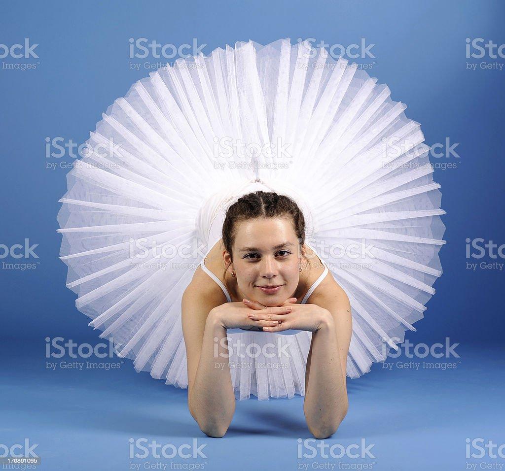 Danseur de Ballet tutu blanc photo libre de droits