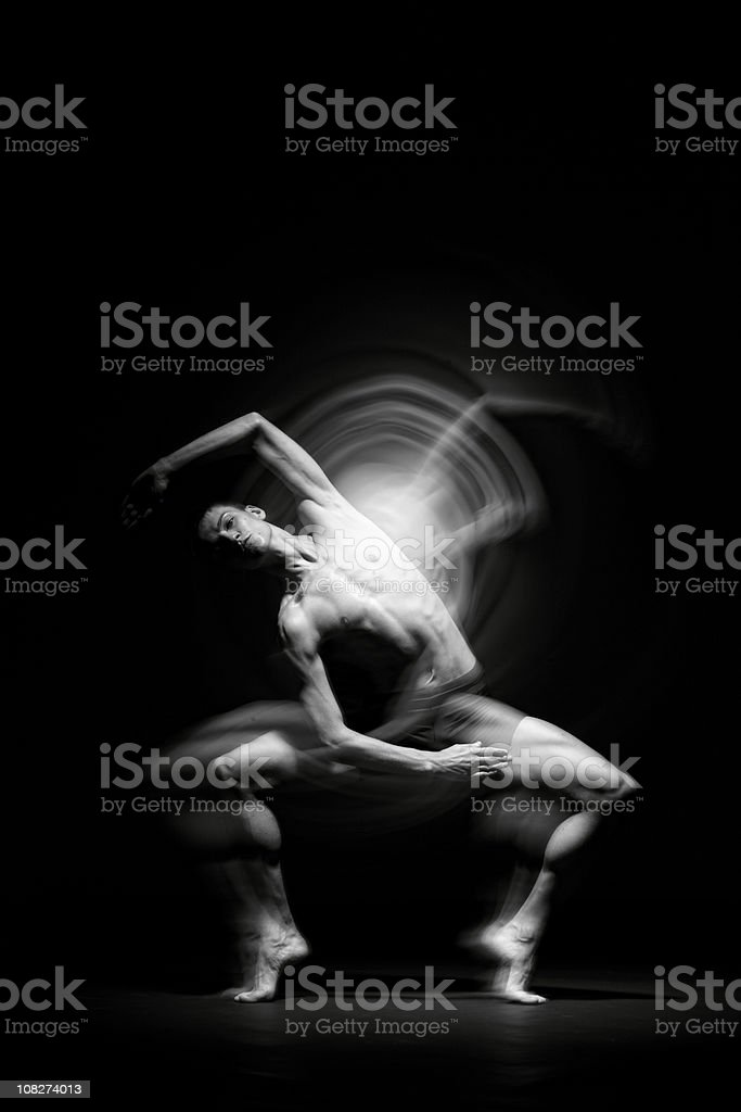Ballet dancer. royalty-free stock photo