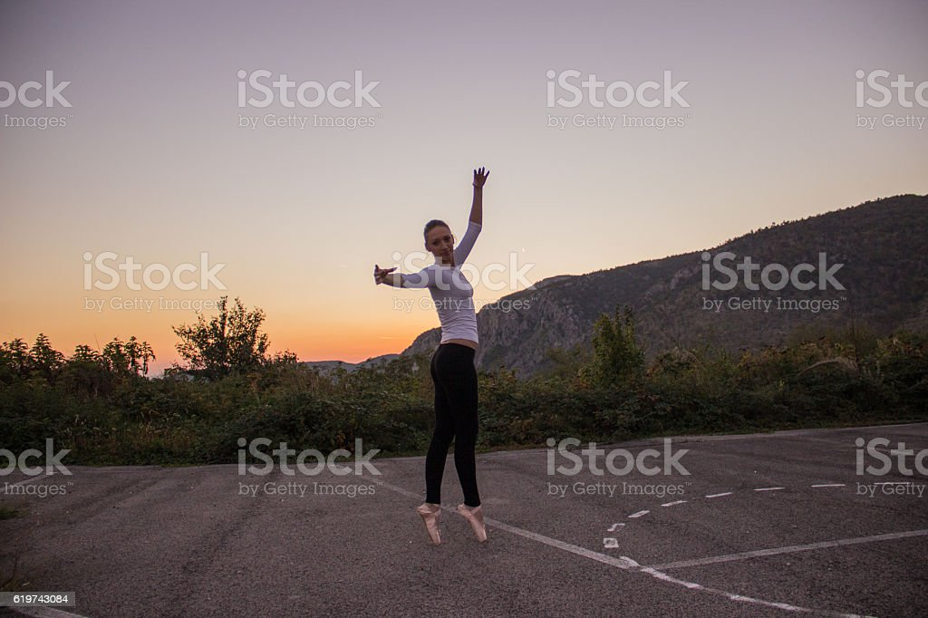 Ballet dancer royalty-free stock photo