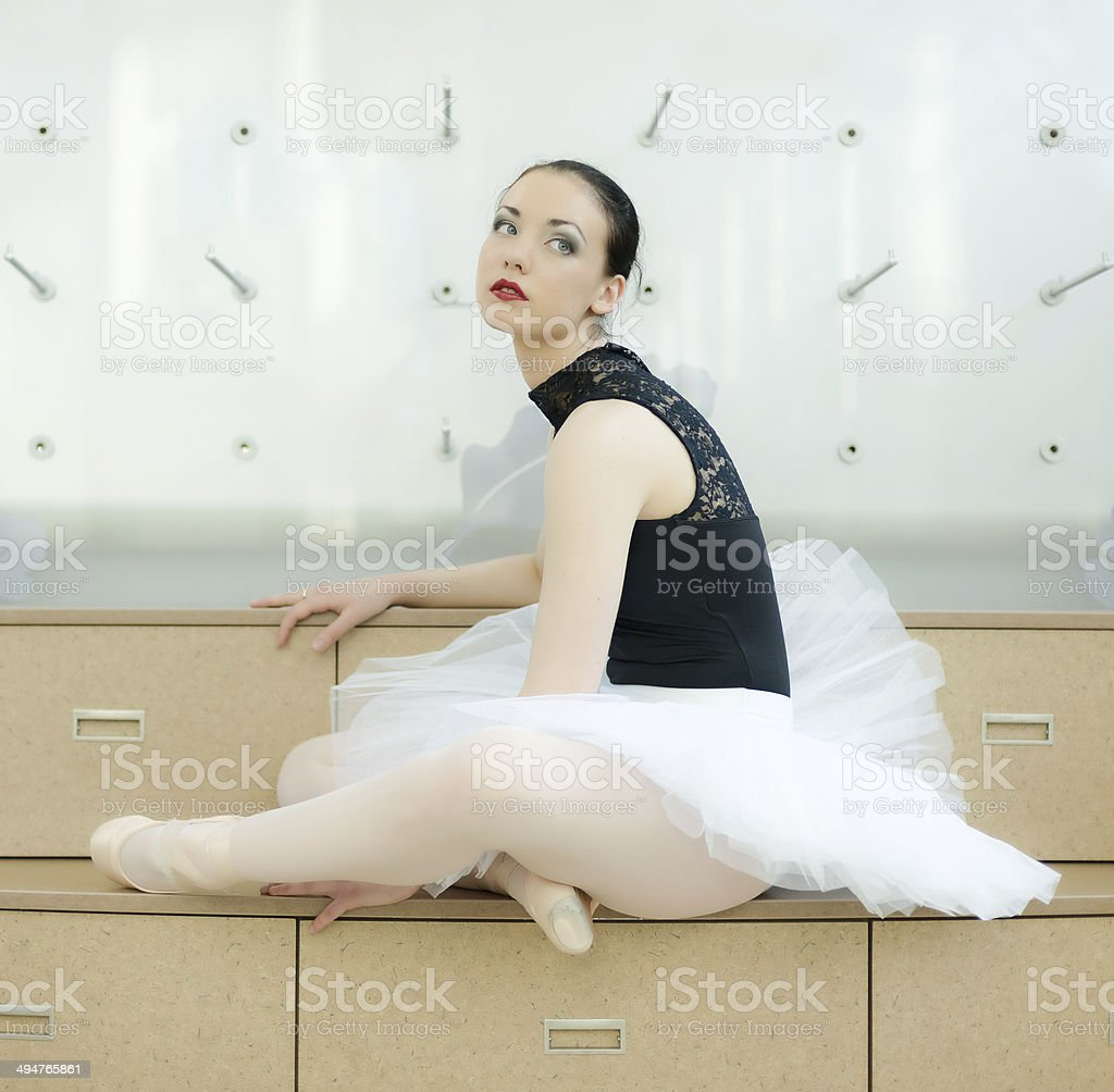 Ballet Dancer, Various Poses stock photo