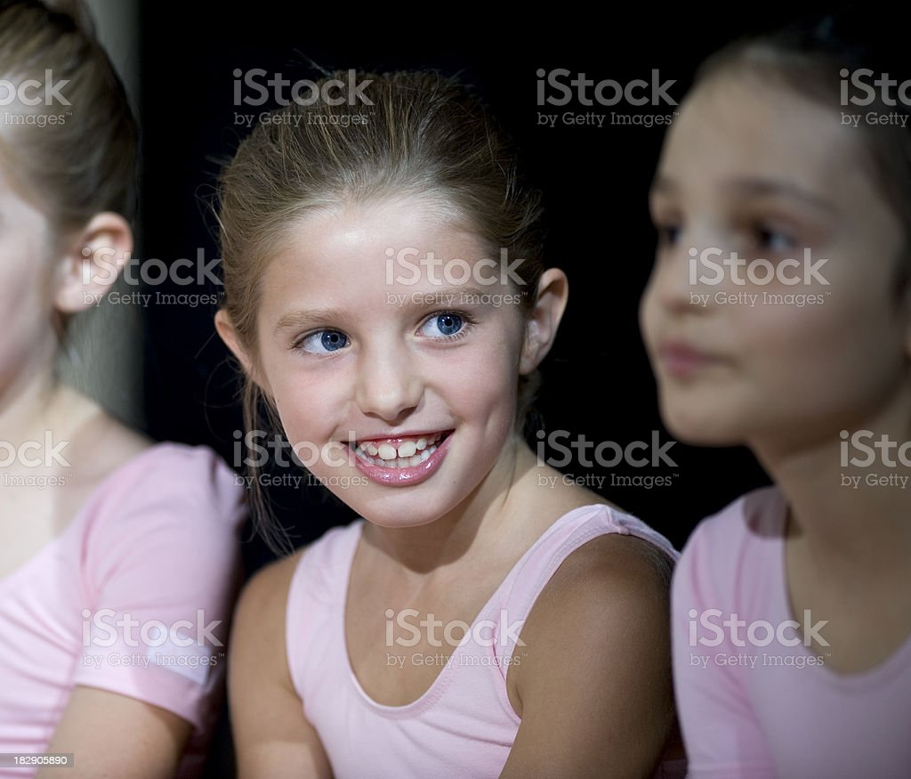 Ballet Dancers royalty-free stock photo