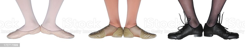 Ballet Jazz and Tap (XXL) stock photo