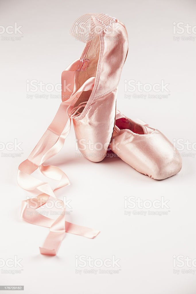 Ballet Shoes royalty-free stock photo