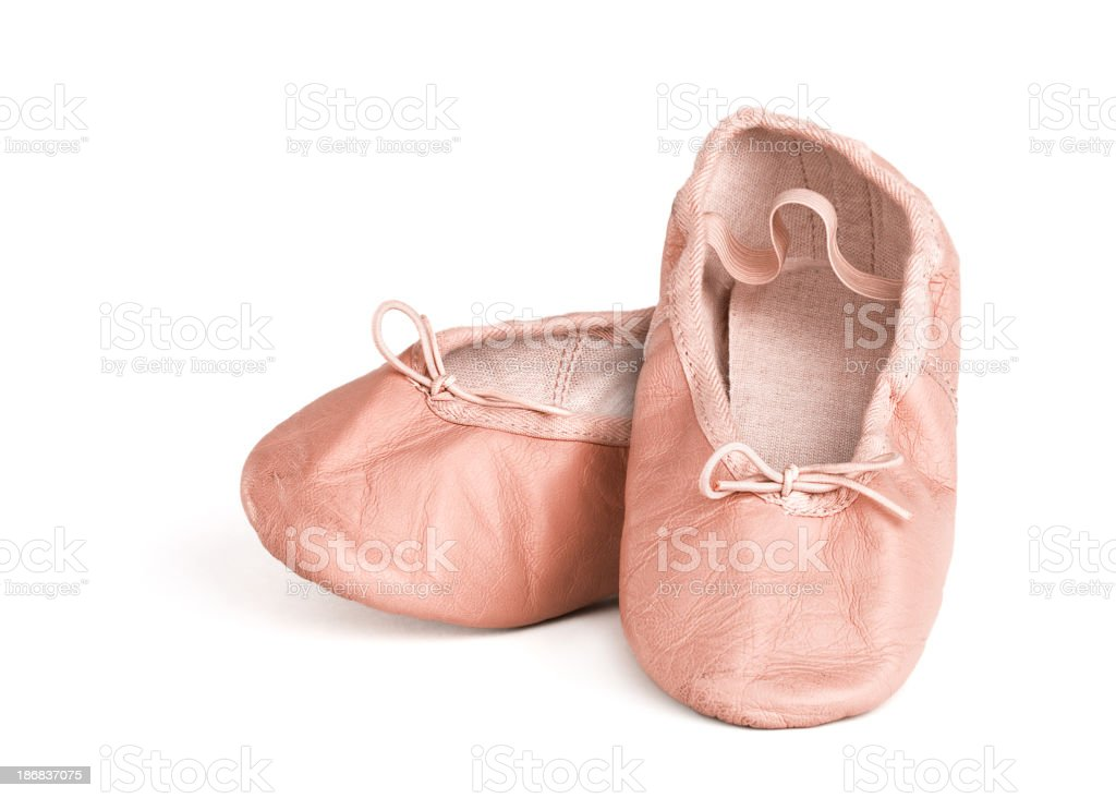 Ballet Shoes (Clipping Path) stock photo
