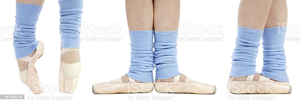 Ballet steps royalty-free stock photo