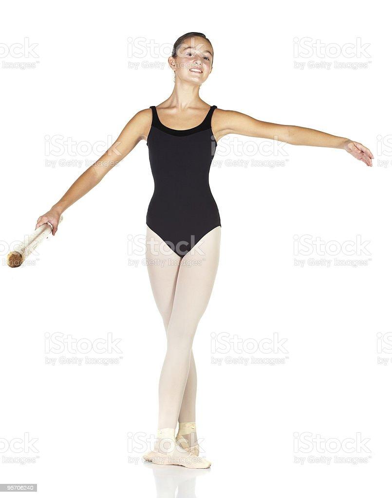 Ballet Steps stock photo